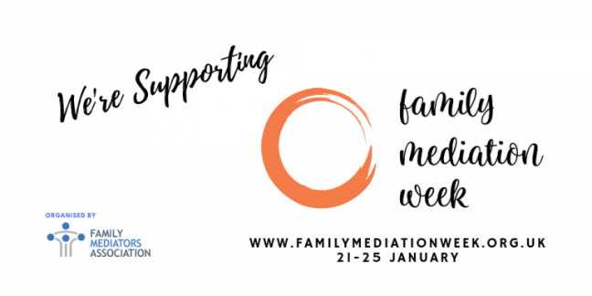 We are supporting family mediation week